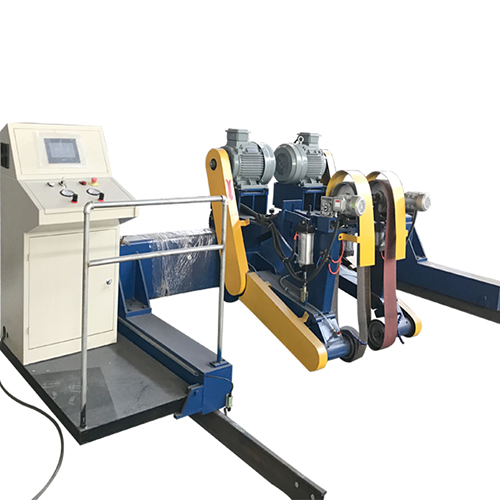 Abrasive belt sheet grinding buffing machine for stainless steel
