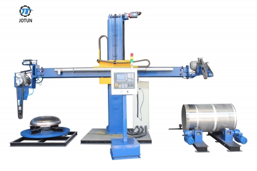 CNC Polishing Machine for Tank Shell and Dished Head