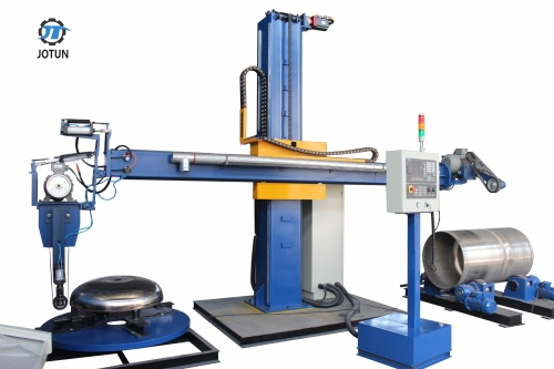 Customized CNC dished end polishing machine