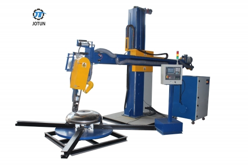 Automatic CNC buffing machine for shell and bottom