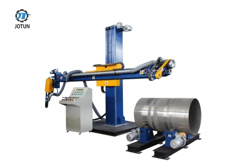 Stainless steel sanding belt tank and dish end polishing machine buffing machine