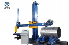 Heavy Duty Polishing Machine For Tank And Tank Bottoms