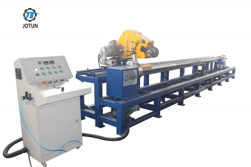 Round pipe surface grinding polishing machine